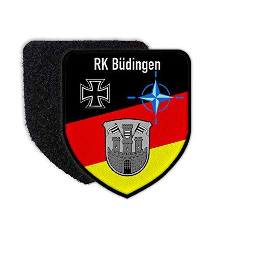 Copytec Patch/Aufnäher - RK Büdingen Reservisten Kameradschaft Vogelsberg BW #26851