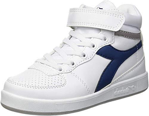 Diadora Playground H PS, Chaussures de Gymnastique Mixte Enfant, Bleu (Blu Estate 60024), 31 EU