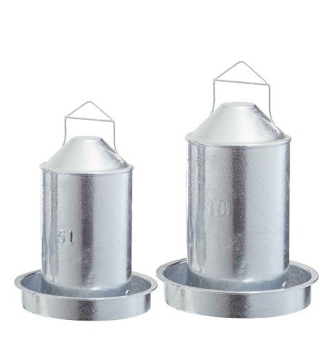 Hühnertränke Metall - 10 Liter