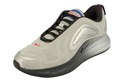 Nike Air Max 720, Scarpe da Corsa Uomo, Metallic Silver/off Noir/Cosmic Clay, 41 EU