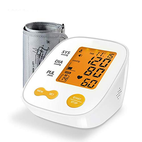 Automatische Digitale Bloeddrukmeter Backlight LCD Talking Hartritme Pulse Meter 22-36Cm Manchet Bloeddrukmeters