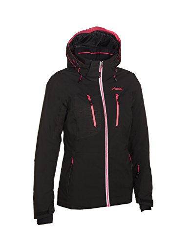 Phenix Damen Skijacke Snow Light Jacket, Black, 38