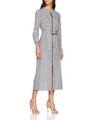 Dolores Promesas Pv18 2082 Vestido, Gris (Gray), 38(Tamaño del Fabricante:38) para Mujer