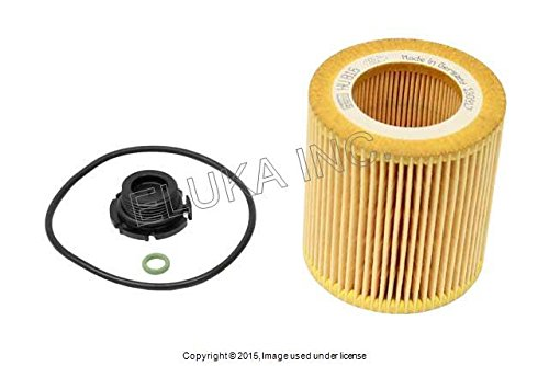 BMW OEM Engine Lubrication System Oil Filter Kit X1 28i Z4 28i 528i Hybrid 5 528i 228i X3 28i 320i 328i Hybrid 3 328i 428i 428i 328i 428i