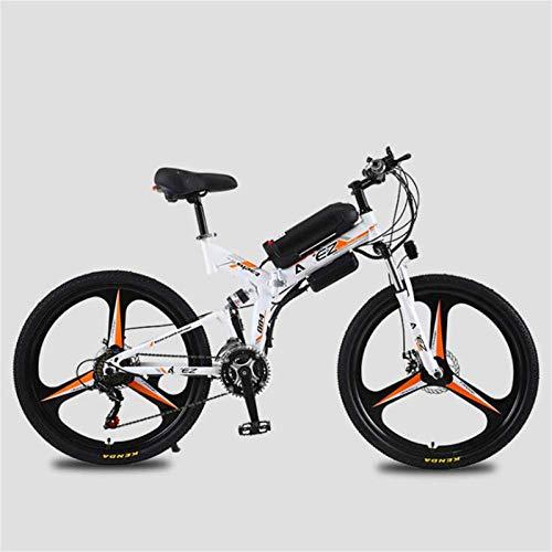 RDJM Bici electrica, Eléctrica Bicicleta de montaña, Bicicleta eléctrica de 26 Pulgadas/Conmuten...