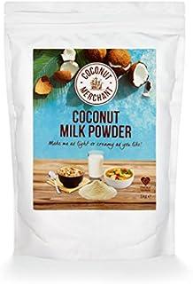 1 kg Coconut Merchant Leche de coco en polvo Alternativa de leche en polvo vegana | para curry, sopas, salsas, batidos y b...