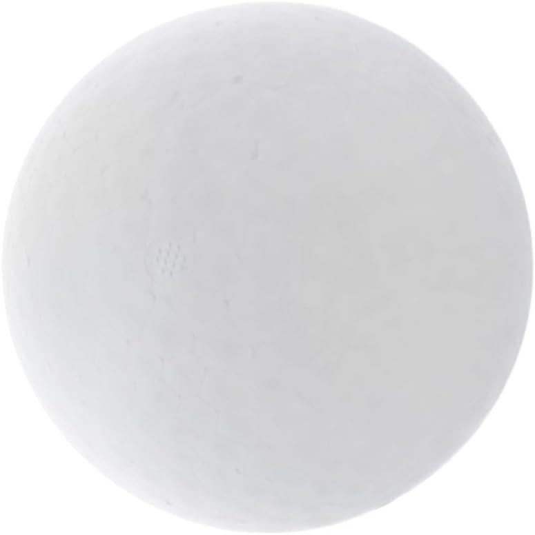 Prettyia 4 Sizes Popular product White Foam Round Polystyrene Jacksonville Mall Wedd for Ball
