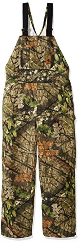 Carhartt Men's Hunt Loose Fit Duck Insulated Overall, Mossy Oak Break Up Country, X-Large