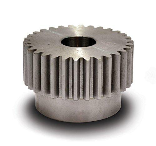 Boston Gear NB15B-1/2 Spur Gear, 14.5 Pressure Angle, Steel, Inch, 16 Pitch, 0.500' Bore, 1.063' OD, 0.500' Face Width, 15 Teeth