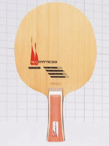 Tibhar Tenis de Mesa Madera Red Cypress, Recto