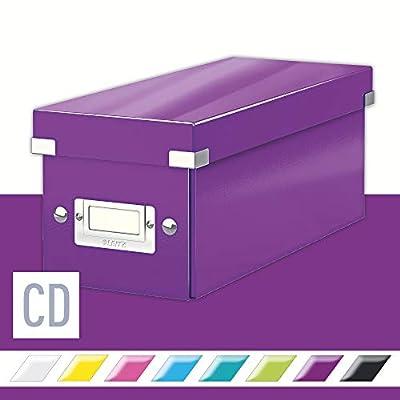 Leitz CD Storage Box, Click and Store Range