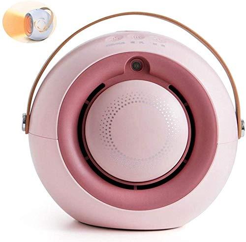 HFFFHA Elektrische Heizung Mini Heizlüfter Doppel-Purpose-Heizung for Kalt- und Heißluft, elektrische Heizgeräte for Desktop Home und Büro, UK-Stecker (Color : C)