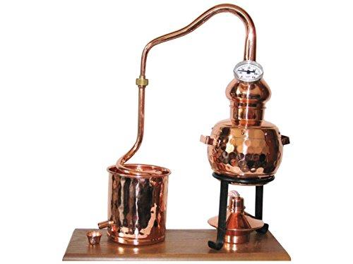 Dr. Richter Destillieranlage Alambic Classico mit Thermometer (0,5 Liter)