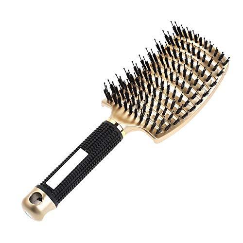 Cepillo de Pelo para Mujer Peine húmedo Cepillo de Pelo Profesional Cepillo de Masaje Peine Cepillo para peluquería Herramientas de peluquería