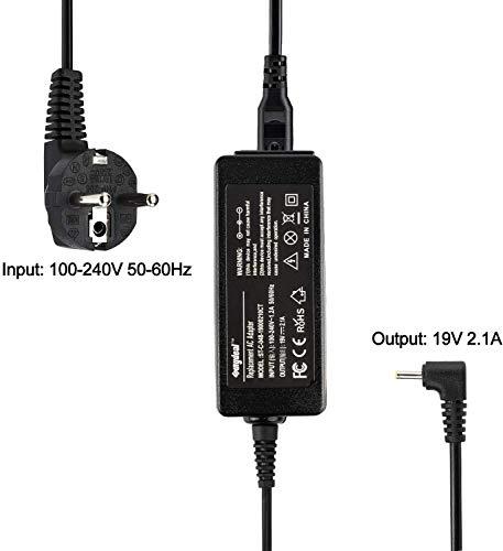 Cargador para Ordenador portatil ASUS EEE PC 1025B 1025C 1025CE 1225B 1225C R051BX R11CX R101 X101CH para reemplazo de Cargadores Originales AD6630 ASUS Pro23 R252B 1201HAG 1201HAB 1201K 1201N-PU17-B