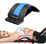Back Stretcher, Lumbar Back Pain Relief Device, Multi-Level Back Massager Lumbar, Pain Relief for...