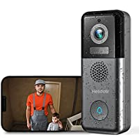 Helidallr 2K Wide Angle WiFi Video Wireless Doorbell Camera