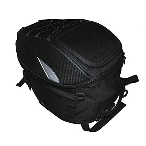 YXYECEIPENO Bolsa para Casco De Moto Bolsa De Asiento Trasero para Montar En Moto Practicidad Y Versatilidad Se Puede Convertir En Bandolera con Bandolera. (Color : A)