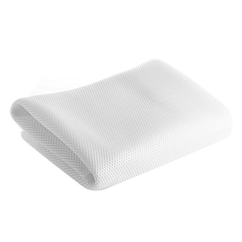 Zadaro Mesh Speaker Grill Cloth Fabric Dustproof Stereo Audio Grille Cloth White