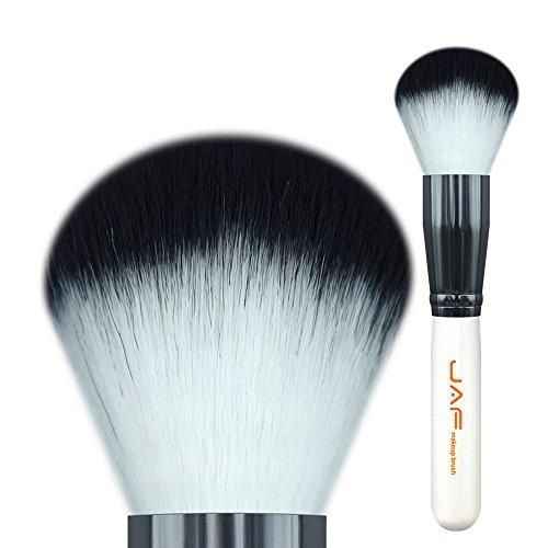 HUBINGRONG Makeup-Puder-Pinsel aus Kunsthaar, superweich, synthetisch, Taklon-Haar, Bronzer, Quaste...