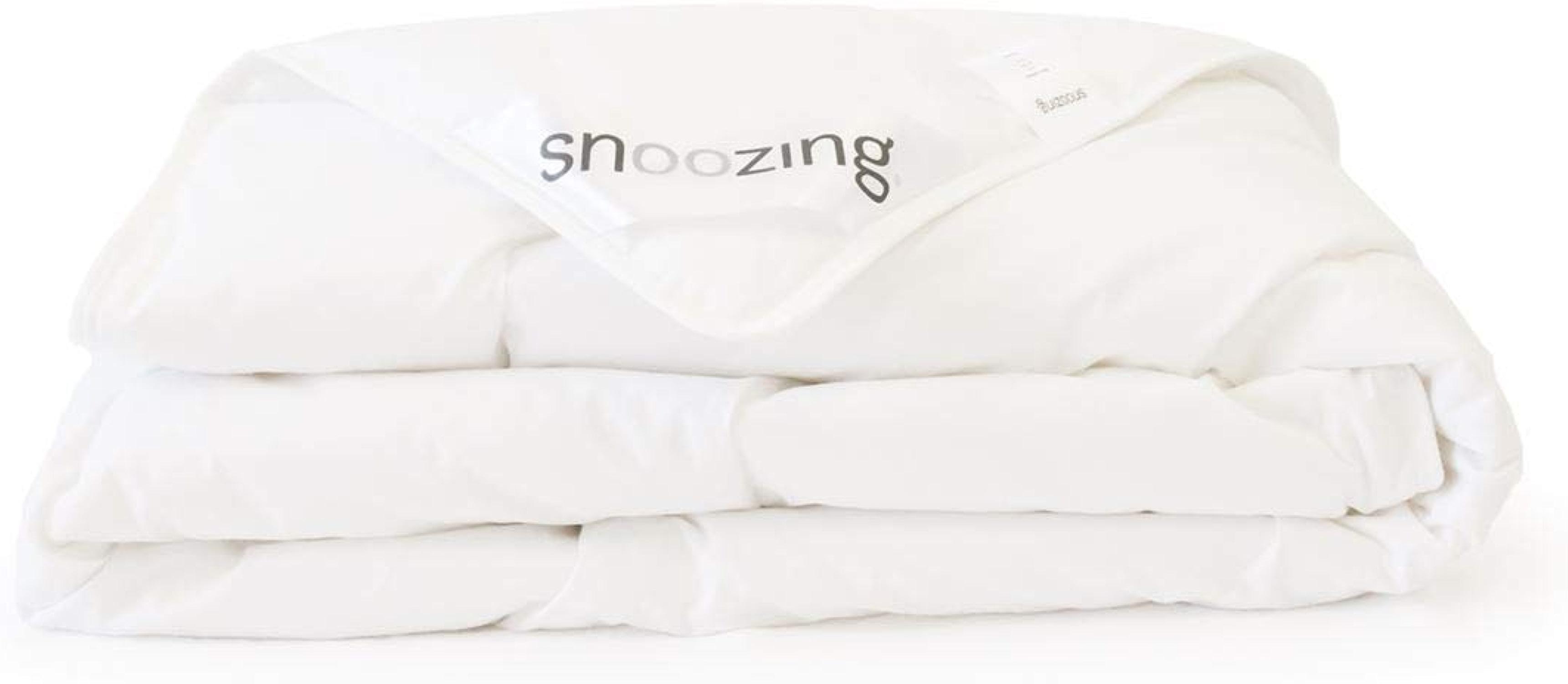 Snoozing Kreta - Couette été - 100% coton - 270x220 cm - Blanc