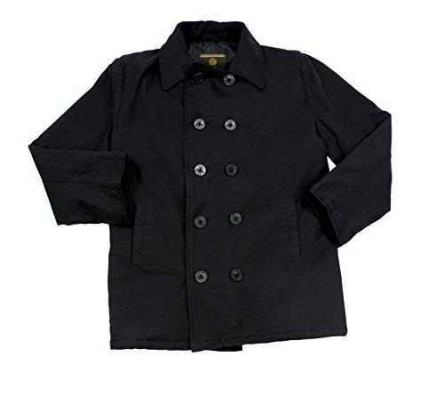 ROTHCO Jacke Herren Winter PEA Coat–schwarz–7877 Medium schwarz - schwarz