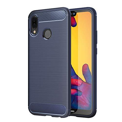 Hülle Kompatibel für Huawei P20 Lite, Handyhülle Kompatibel für P20 Lite Case Cover - Blau