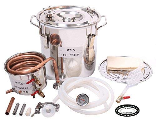 WMN_TRULYSTEP 8541958125 Home Distiller, 3 Gallon 12 Liters, Stainless