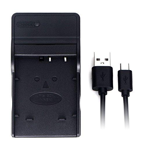 NP-120 USB Cargador para Casio Exilim EX-S200, EX-S300, EX-Z31, EX-Z680, EX-Z690, EX-ZS10, EX-ZS12, EX-ZS15, EX-ZS20, EX-ZS26, EX-ZS27, EX-ZS30 batería de la cámara y Más