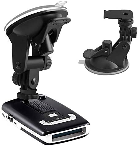 YiePhiot Suction Cup Radar Detector Mount Windshield Dashboard Radar Holder Compatible with product image
