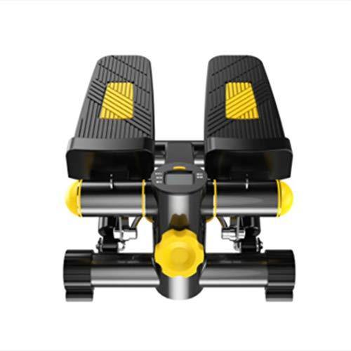 TMXWHYQ Stepper Accueil Mini hydraulique Sourdine Alpinisme véritable pédale Machine Multi-Fonction de Remise en Forme Poids Équipement de Perte,A
