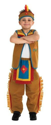 Costume Indien American - Taille : Moyen
