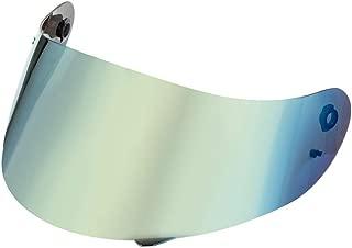 Yeldou Motorcycle Helmet Visor, Full Face Motorcycle Helmet Visor Helmets Lens for K3 K4 Helmet Visor, Anti-Scratch UV-Protected Full Face Helmet Lens(Multicolour)
