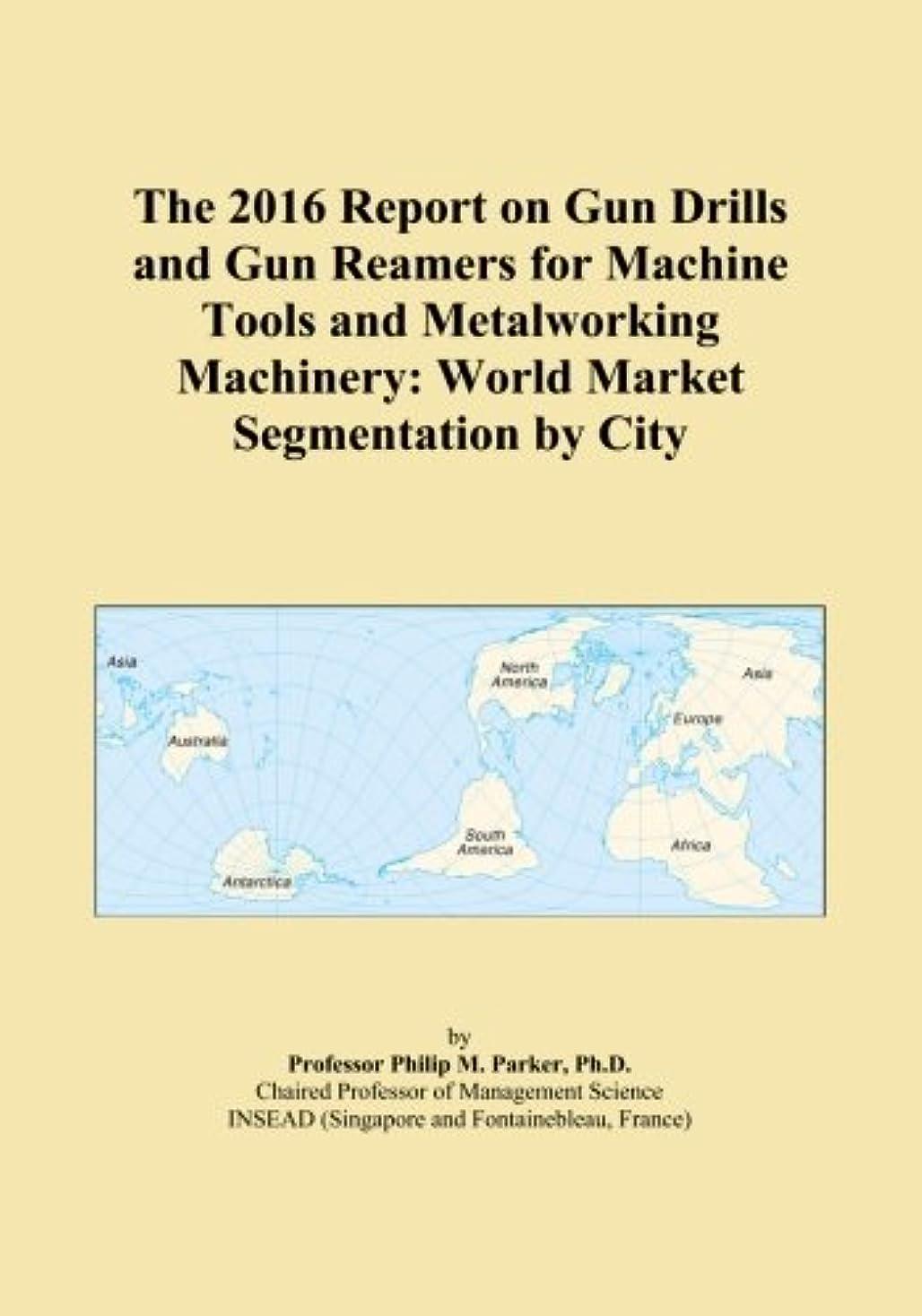 軽蔑便利さ悪質なThe 2016 Report on Gun Drills and Gun Reamers for Machine Tools and Metalworking Machinery: World Market Segmentation by City