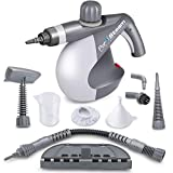 PurSteam World's Best Steamers Chemical-Free Cleaning PurSteam Handheld Pressurized Steam Cleaner with 9-Piece