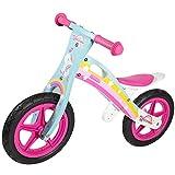 WOOMAX - Bicicleta sin pedales madera, bici sin pedales niña, de unicornio, niñas 2 años, bici madera, juguetes unicornio, bici niños 2 a 5 años, 25 kg (85373)