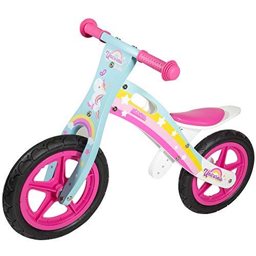 Bici de madera estilo unicornio