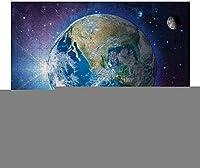 NEWJSCTWCL地球パズル500ピース木製大人ジグソーパズルカラー抽象絵画パズル子供向け教育玩具ギフト
