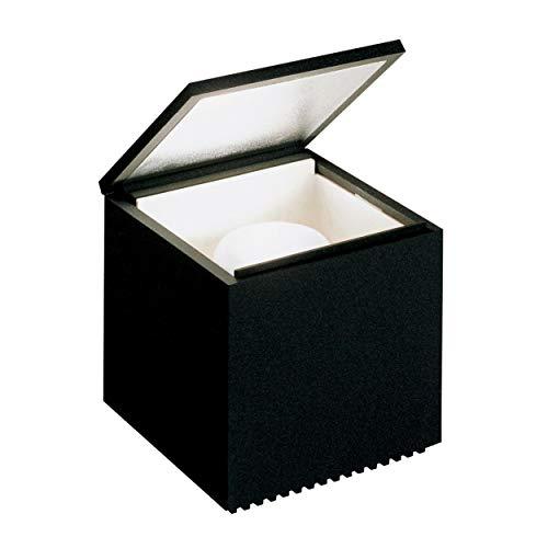 Cuboluce - Lampe de Chevet noir