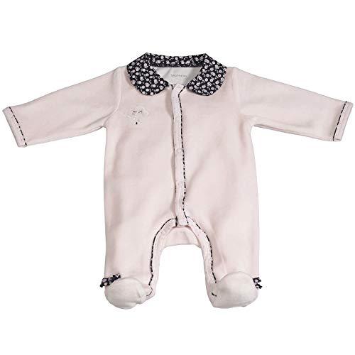 Pyjama bébé rose naissance Miss Fleur de Lune - Sauthon