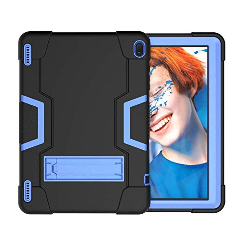 "Koolbei Case for ONLY Model A ONA19TB003 Onn 10.1"" Tablet, Heavy-Duty Hybrid Case Built-in Stand for Onn 10.1 Model ONA19TB003 ,NOT fit Onn 10.1 Gen 2 / NOT fit Onn 10.1 Pro (Black/Blue)"