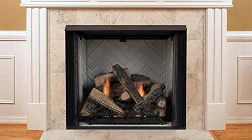 Fantastic Prices! Monessen Lcuf36c-r Lo-Rider Series 36-inch Radiant Face Vent-Free Firebox with Ref...