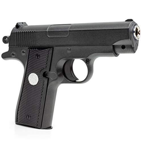 Germanseller Klein Pistole Voll Metall Waffen Softair Plastik Kugel Munition G2 +1000 BB