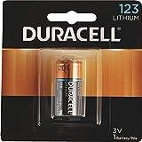 6 Duracell CR123A DL123A 3 Volt Photo Lithium Batteries in Original Packaging