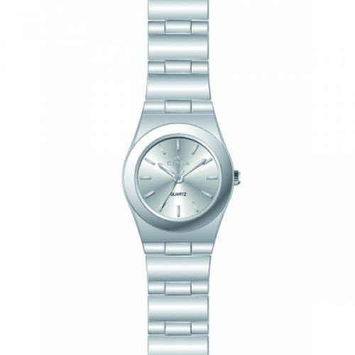 Clyda CLA0578RBIX - Reloj para Mujeres, Correa de Acero