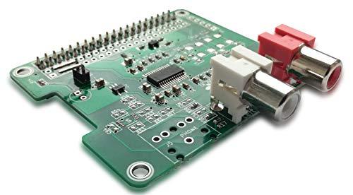 HiFiBerry DAC+ Standard RCA Version - Soundkarte für Raspberry Pi mit Cinch Anschlüssen