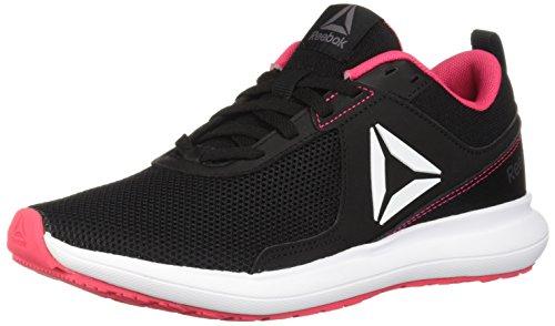 Reebok Women's Driftium Running Shoe, Black/ash Grey/Twisted pi, 8.5 M US