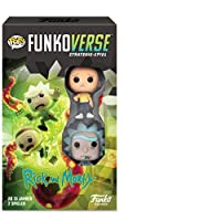 Funko 43485 Rick and Morty 100 Funkoverse - Juego de Mesa (2 Personajes)