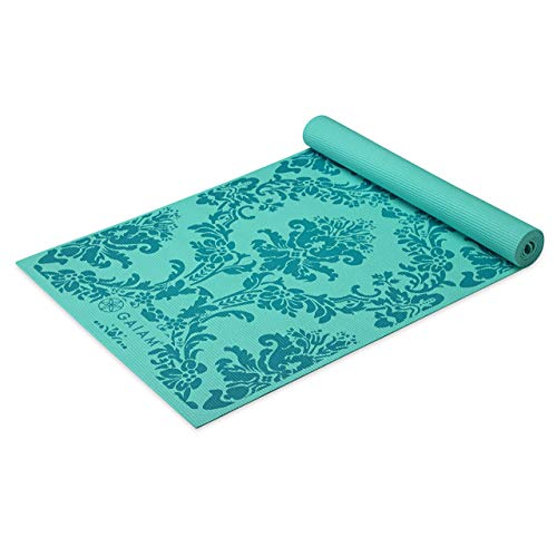 gaiam Yoga-Matte, Unisex, Neo-Baroque Yoga Mat Blues