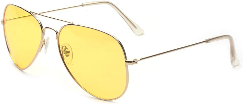 Outray Night Vision Polarized Aviator Sunglasses for Driving